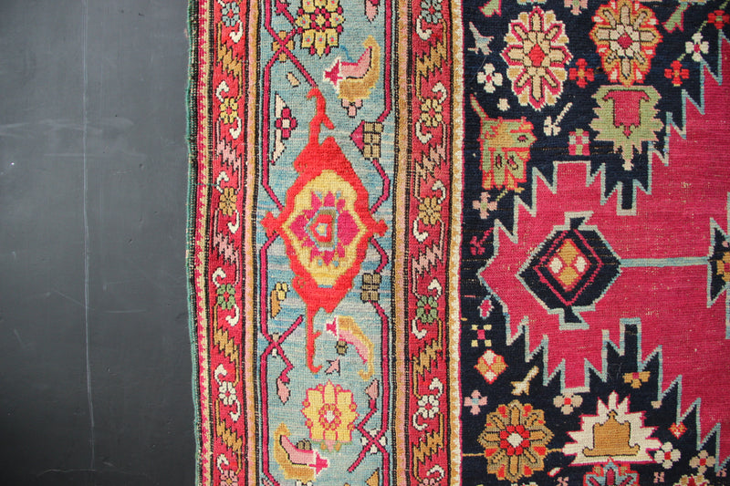 "Late 19th century Karabagh Kelleh 7'0"" x 20'7"""