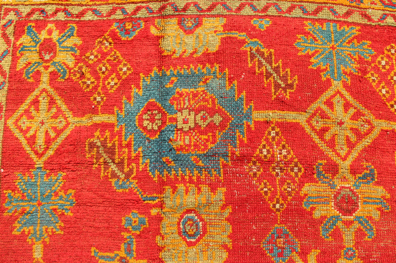 "Antique Oushak carpet 11'3"" x 15'7"" / 343 x 476cm"