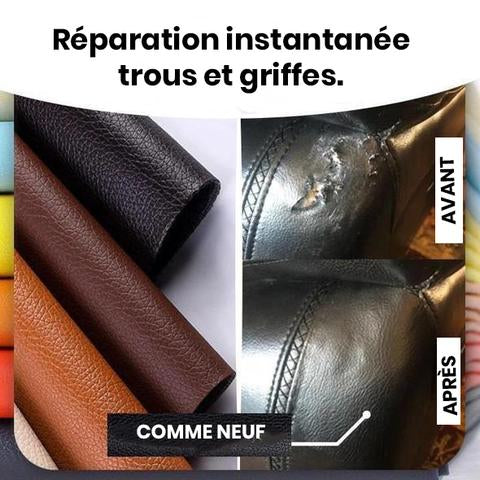 Releath Rouleau Patch Auto Adhesif Protection Reparation Cuir