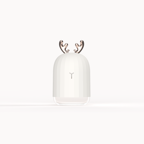 Antler - Humidificateur d'Air Ultrasonique & Diffuseur d'Huiles Essentielles USB - Humidificateur d'Air Ultrasonique & Diffuseur d'Huiles Essentielles USB - Alouate