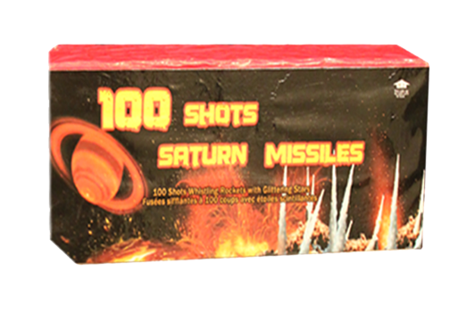 100 Shots Saturn Missiles