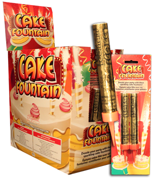 Cake Fountains - Retail (2pk)