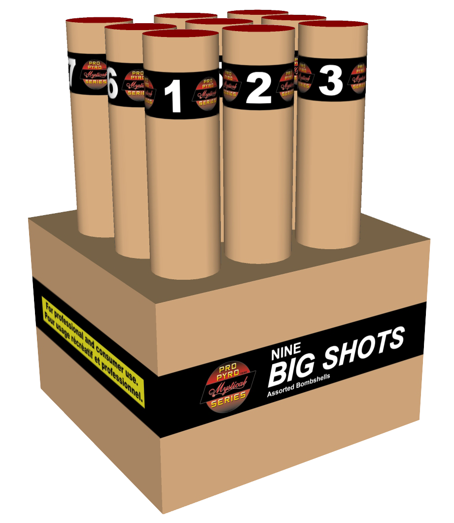 9 Big Shots *NEW*