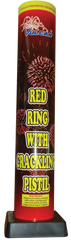 Red Ring with Crackling Pistil