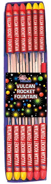 Vulcan Rocket Fountain