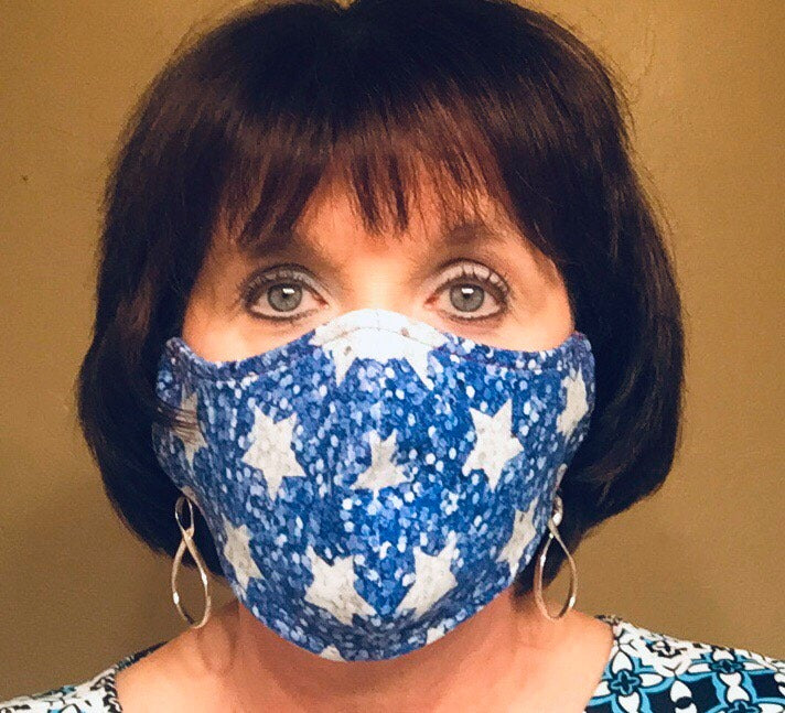 Black Label Pattern Co Face Mask