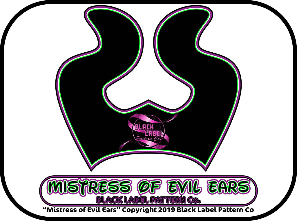 Mistress of Evil Ears PDF Pattern