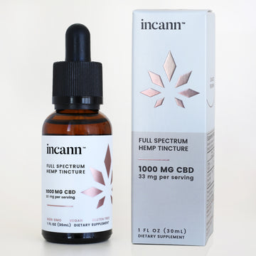 1000 mg cbd tincture- full spectrum by incann
