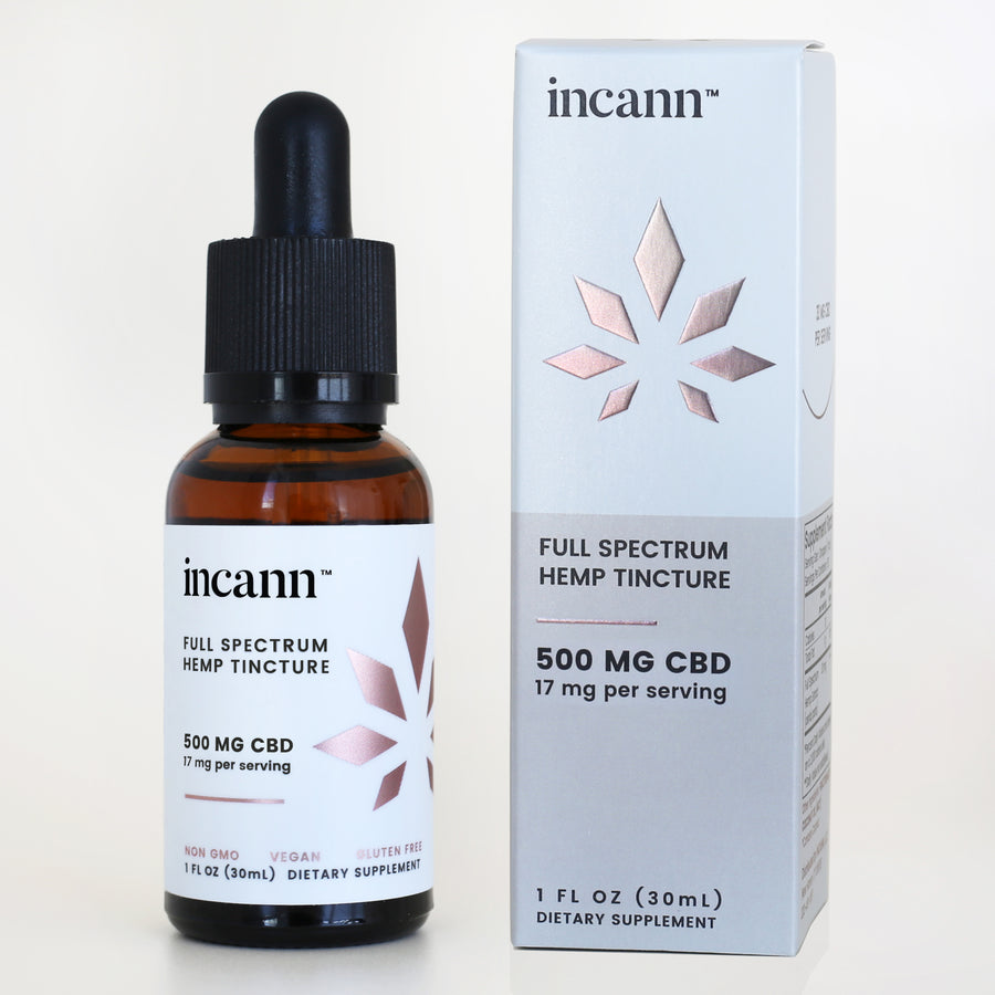 500mg - 17mg/ml Full Spectrum CBD Hemp Tinctures