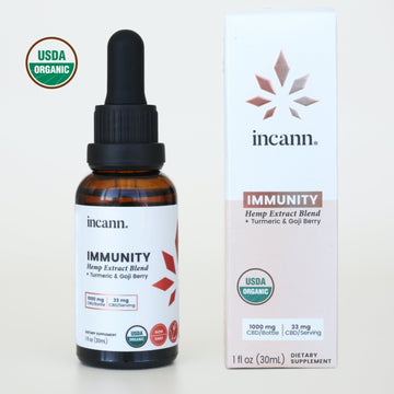 Immunity Tincture 1000mg CBD - Full Spectrum Extract