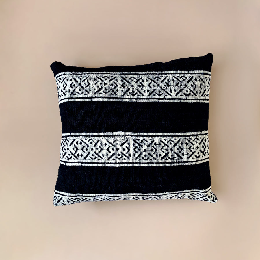 Adisa Black Mudcloth Cushion           <br>45 x 45cm