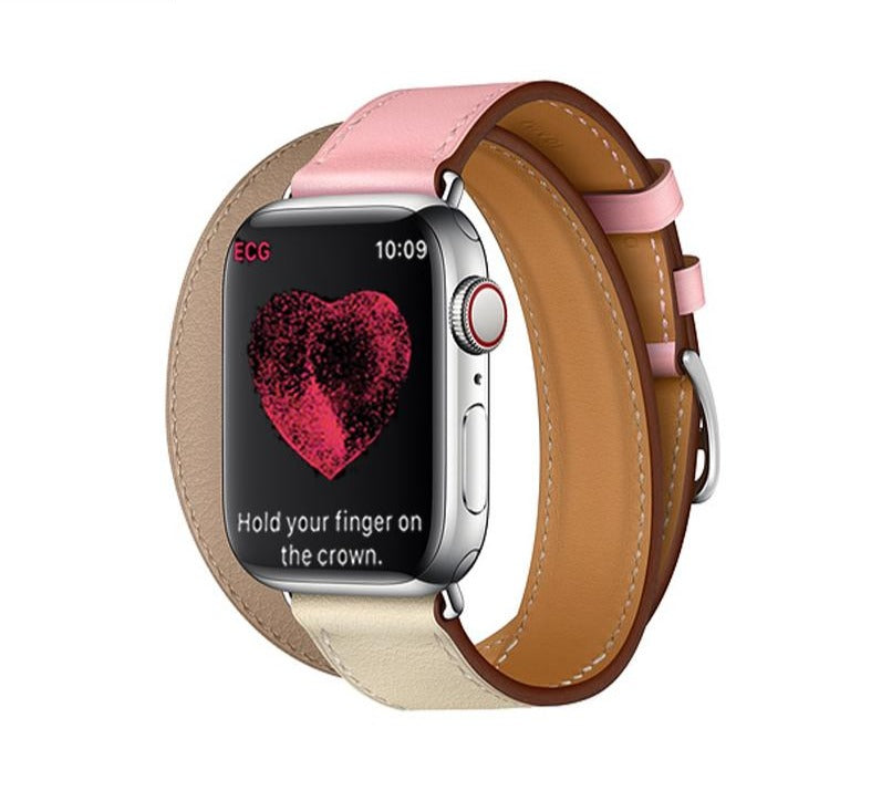 Original Leather Delicacy Bracelet For Apple Watch