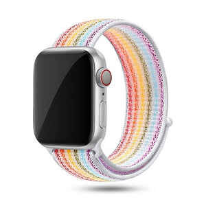 Active Woven Nylon Delight Band For Apple Watch