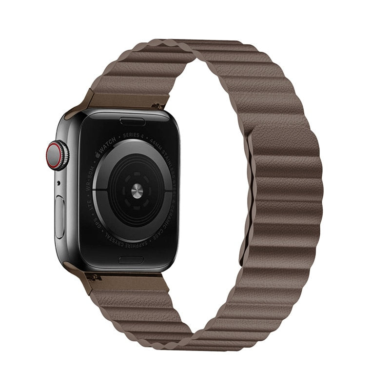 Genuine Leather Milanese Band For Apple Watch