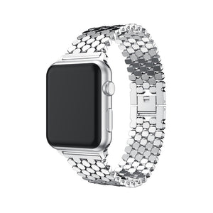 Glint Stainless -Steel Bracelet For Apple Watch