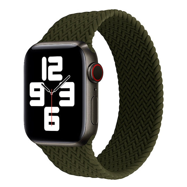New Braided Solo Loop Strap For Apple Watch