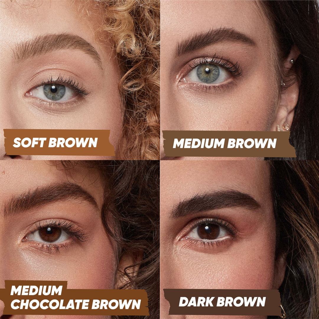 Air Brow - Tinted - Medium-chocolate-brown