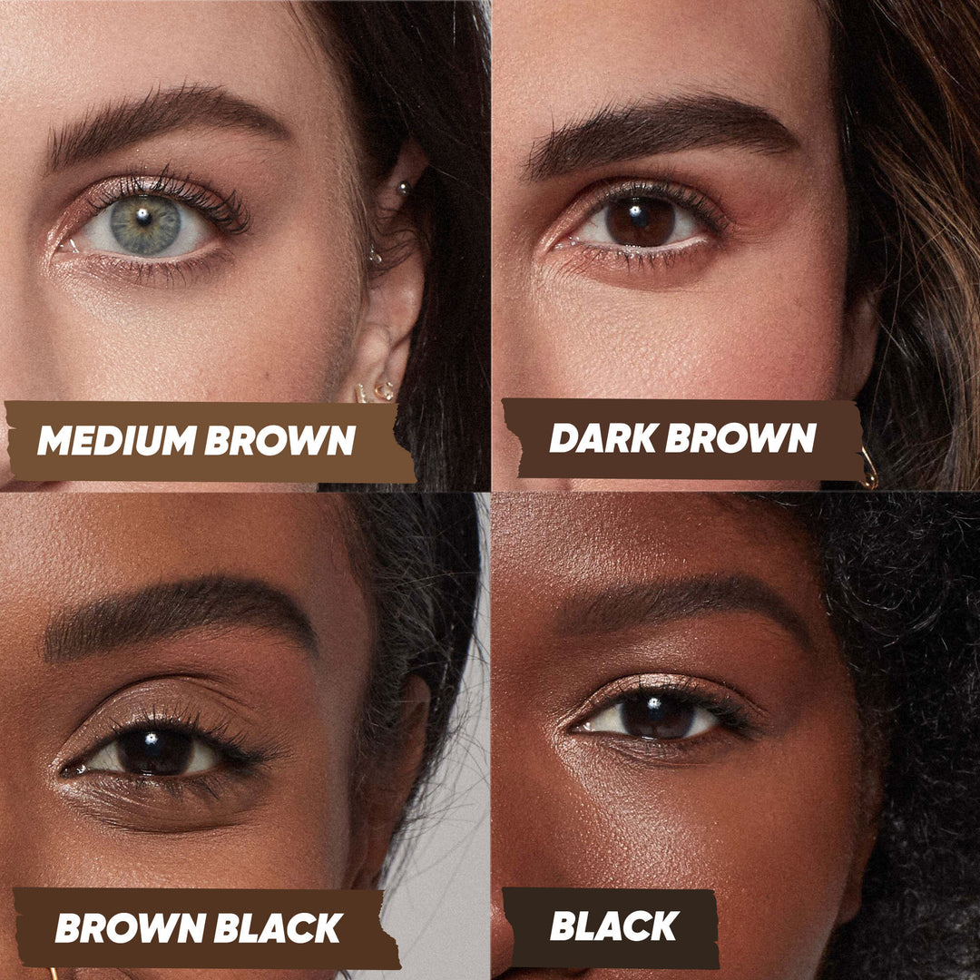 Air Brow - Tinted - Brown-black