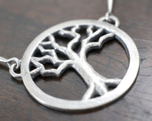 Load image into Gallery viewer, Silver Yggdrasil Tree Necklace by Taitaya Forge, Design by Marleena Barran