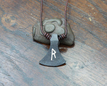 Load image into Gallery viewer, Viking Axe Head Pendant