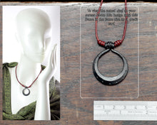Load image into Gallery viewer, Iron Moon Necklace
