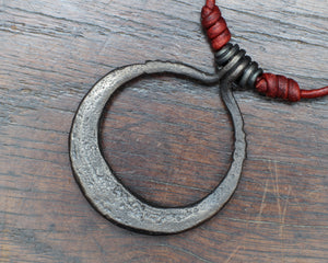 Iron Moon Necklace