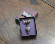 Load image into Gallery viewer, Small Iron Leaf Pendant
