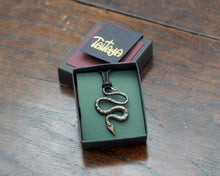 Load image into Gallery viewer, Small Iron Snake Pendant