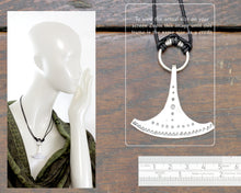 Load image into Gallery viewer, Silver Ukonvasara Pendant