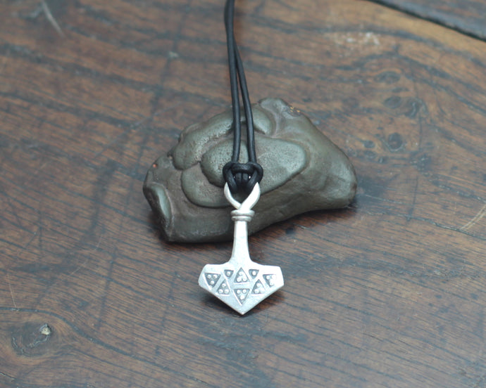 Small Silver Thor's Hammer