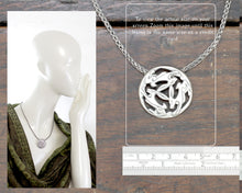 Load image into Gallery viewer, Three Hares Necklace