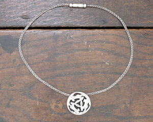 Three Hares Necklace
