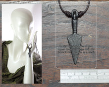 Load image into Gallery viewer, Large Viking Arrow Pendant