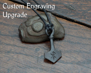 Add an engraving to your pendant