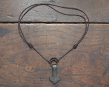 Load image into Gallery viewer, Viking Thors Hammer Pendant