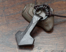 Load image into Gallery viewer, Viking Thor's hammer by Taitaya Forge