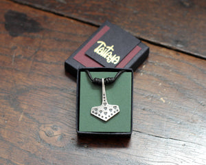 Historical Silver Thor's Hammer Pendant