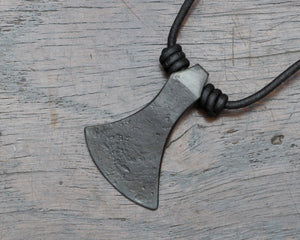 Algiz Axe Head Pendant