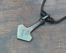 Load image into Gallery viewer, Decorated Small Thor's Hammer