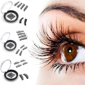 Magnetic Eyelash Handmade 3D / 6D Magnetic Eyelashes Natural False Eyelashes