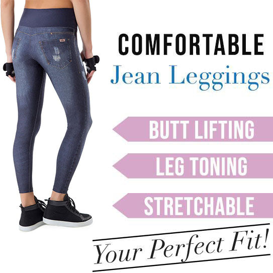 High waist  Jean Leggings(BUY 2 GET FREE SHIPPING)