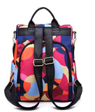 Oxford Printing Design Anti Theft Backpack(GET FREE SHOPPING NOW)
