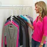 Vertical Space Saving Hangers( GET MORE SAVE MORE)