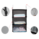 3 Layers Portable Travel Storage Rack Holder - tntonlife.com