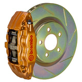"Brembo GT Brake System (Gold Calipers) - (Front) 4-Piston 326x30 mm (12.8"") 