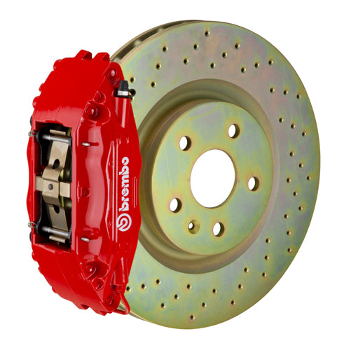 Brembo GT Brake System - (Front) 4-Piston | 326x30 mm (12.8') | 1-Piece Disc