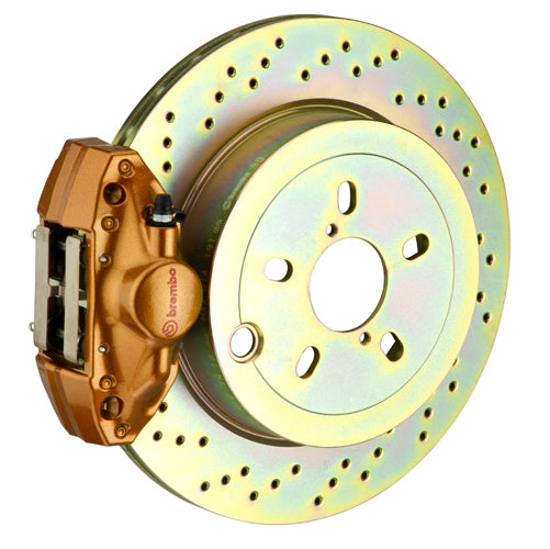 Brembo GT Brake System - (Rear) 2-Piston | 316x20 mm (12.4