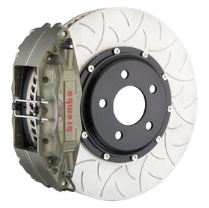 "Brembo Race Brake System - (Front) 4-Piston Calipers | 350x34 mm (13.8"") 