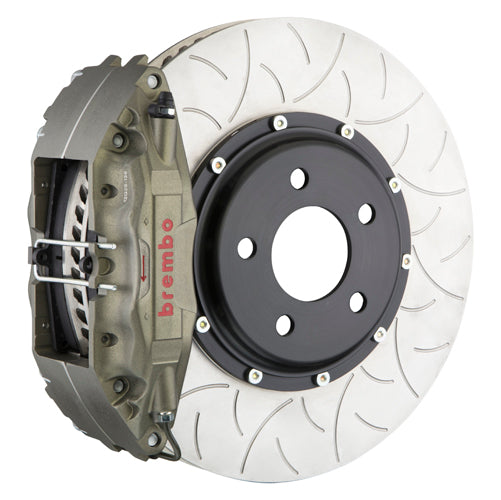 Brembo Race Brake System - (Front) 4-Piston Calipers | 350x34 mm (13.8