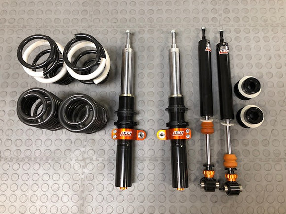 AST 5100 Coilovers - For Golf MK7, Non-Coilover Rear (Inverted) with Top Mounts